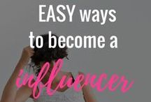 Marketing: Pinterest / How to leverage pinterest to grow your following and blog traffic.
