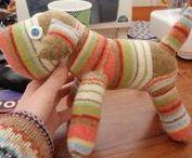 hračky z ponožiek