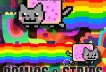 Funny Cat Comics & Strips