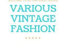 Various in Vintage Style