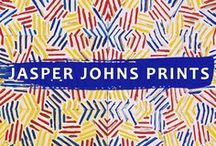 Jasper Johns Prints / For 6 decades, Jasper Johns has challenged the possibilities of printmaking, creating over 450 limited editions, plus thousands of unique trial proofs and monotypes. View iconic Jasper Johns limited edition prints from Crosshatch, Flags, Targets, Maps, Numerals, Postcard & Savarin series at Joseph K. Levene Fine Art, Ltd. | JKLFA.com | http://pinterest.com/follow/jklfa/jasper-johns-prints/