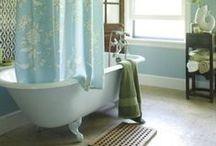 Blue/Green Bathroom / by Nicole Deyton