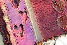 Handmade Journals, books, files