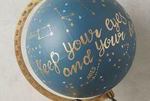 Globes ~ repurpose inspiration