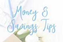 Money and Savings Tips / Finances, money, money saving, make money, side hustle, shopping, frugal, budget, budgeting, journal, tips