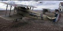 WW1 Aviation art