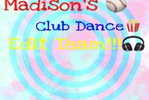 """Madison's ⚾️ Club Dance Edit Team!!!!!! / If you can't find pictures then go to my board it's called """"My Club Dance edit team Pics!!"""""""