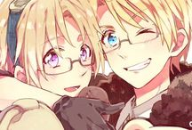 America & Canada - APH (Hetalia) / Yes, there will be AmeCan in here. No, it probably won't be often