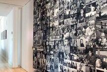 Fotky  doma stěna