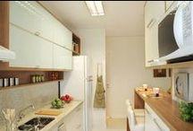Cozinha / A.Serviço / Ideias para o apartamento