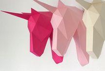 Idée origami / Voici de jolis pliages pour décorer votre maison