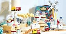 Train Party Ideas / Train party ideas -- Train cakes, decorations, party foods and favors. Shop the Bee Box Parties Train Collection at https://beeboxparties.com.au/products/train