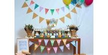 Playground Outdoor Party Ideas / Train party ideas -- Train cakes, decorations, party foods and favors. Shop the Bee Box Parties Train Collection at https://beeboxparties.com.au/products/slide-swing-and-play