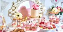 Princess Party Ideas / Princess party ideas -- cakes, decorations, party foods and favors. Shop the Bee Box Parties Princess Collection at https://beeboxparties.com.au/products/princess-1