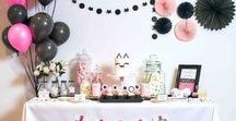 Kitty Kat Cat Party Ideas / Kitty Kat party ideas -- cat cakes, decorations, party foods and favors. Shop the Bee Box Parties Kitty Kat Collection at https://beeboxparties.com.au/products/kitty-kat-1