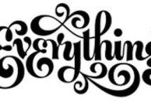 Calligraphy / Typography
