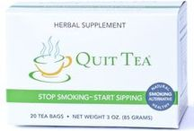Smoking Cessation Aids / Smoking cessation aids, anything that will help you quit smoking. / by Quit Tea