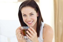 Hot Tea Drinkers / Drinking herbal tea is a healthy and attractive habit. Here are some of the people who do it.
