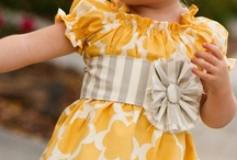 Baby & Little Girl Clothes / by Britney Duncan