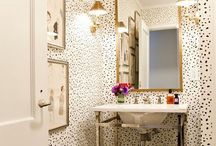 Bathroom Design Ideas / Bathroom Design Ideas / by Mane and Chic