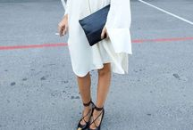 How To Wear Dresses and Skirts / Chic ways to style and wear dresses and skirts.