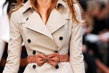 Coats, Jackets, Trench . . . / by Evelyn Flores