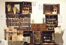 Jewelry Display/Crafts Show Display / by Feliz Para Siempre