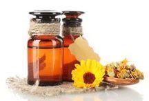 Herbs. Essential Oils.Natural Cosmetics / by Feliz Para Siempre