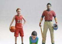 3D Figurines Sports & Activities / Make your favorite sports figurine just sending us your selfie picture!