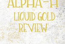Alpha-H Liquid Gold Review / My experience using Alpha - H Liquid Gold for acne prone, oily and acne scarred skin.  #skincare #bloggerau #skincarereviews #skincarejunkie #skincareaddict