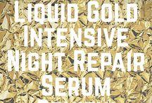 Alpha H Liquid Gold Intensive Night Repair Serum Review / My skincare review using Alpha H Liquid Gold Intensive Night Serum.  My Skincare Reality