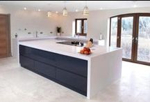 Contemporary Kitchens / At Vale we can personally design your kitchen to fit your needs.  We sell a range of kitchen products from bespoke hand-made items to contemporary #rational #mackintosh and #burger and traditional styles, all excellent designs