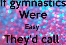 Gymnastics cheer yoga