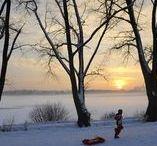 L'hiver sur la Métropole / L'hiver et ses températures glaciales... mais aussi ses paysages recouverts de blanc à couper le souffle qui transforment littéralement le visage de notre Métropole.