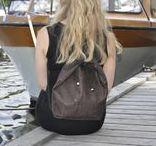 Dark Brown cork / Back bag,Shoulder bag,handbags,oversize backpack