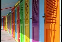 Rainbow / Wonderful rainbow of color