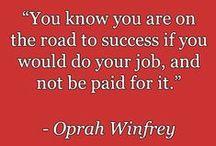 Create a Mindset for Success / Inspirational quotes and more to help you create a mindset for success. / by Adam Urbanski