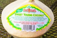 Coconut Water : Sweet Young Coconut / Fresh from Thailand, these coconuts have sweet, refreshing water loaded with nutrients including lots of potassium. There's no better way to hydrate--it's also the most fun!  / by Melissa's Produce