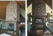 Fireplaces from Kodiak Mountain Stone