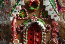 Gingerbread Houses / by Marjorie Lermond
