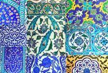 Bits and Pieces: Mosaics, Tiles ~ Pottery, Glass / Vintage, antique, modern, arts and crafts, art nouveau, exotic.