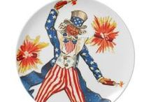 Vintage Patriotic: 4th of July ~ Uncle Sam ~ Holidays / Vintage Illustrations and Holiday Ideas