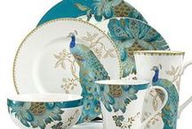 A Plethora of Plates ~ Altered, Displayed, Collected / Antiques, Vintage, Modern -- and Altered / by Marianne Dow