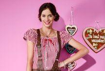 We ♥ Wiesn / munich ♥ oktoberfest ♥ bavaria ♥brezeln ♥bier ♥dirndl ♥ lederhosen  / by bonprix