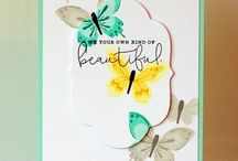 Kaartjes: Vlinders