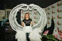 colección de Alas by Marianela Isashi / la Diseñadora de modas Marianela Isashi, presenta una colección de Alas en la ciudad de Lima Perú confeccionadas artesanalmente y enviadas para cualquier parte del mundo  / by Marianela Isashi