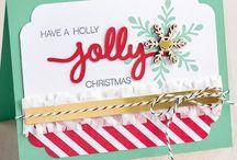 Kaartjes: SU: Christmas greetings thinlits