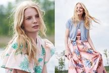 Spring + Summer Fashion / Elegant, feminine, chic fashions du printemps.