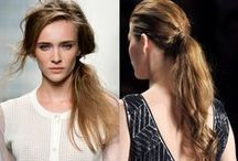 Hair / Pretty and stylish hairstyles you can actually do on your own.