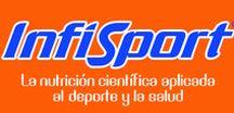 INFISPORT / La destacada marca Infisport se caracteriza por la alta calidad de sus productos fruto de una constante investigación que la marca lleva realizando desde 1978. Todos los productos Infisport han sido controlados por más de 30.000 deportistas de todas las edades y modalidades para analizar la efectividad de sus productos.